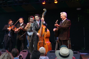 Del McCoury at the Meadow Stage
