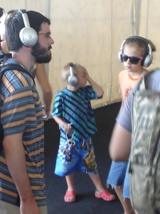 You can never be too young to break it down...